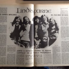 Revistas de música: LINDISFARNE - NEIL YONG - TAPIMAN - PINK FLOYD. Lote 205444692