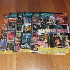Revistas de música: REVISTAS HEAVY ROCK. LOTE DE 6 REVISTAS DE 2003-2004 CON SUS POSTERS (OBÚS, IRON MAIDEN, ETC). Lote 205458800