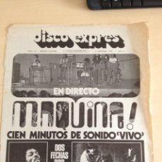 Revistas de música: BEATLES - HENDRIX - MAQUINA DISCO EXPRES NUM. 192. Lote 205574767