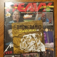 Revistas de música: HEAVY ROCK 409. ESPECIAL 36 AÑOS. METALLICA, LOS SUAVES, EXTREMODURO CON CD (ROBE, SOBER, IRATXO...). Lote 205594928