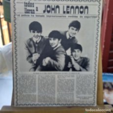 Revistas de música: THE BEATLES SUPLEMENTO REVISTA-. Lote 205707106