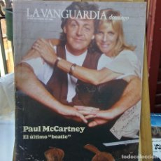 Revistas de música: THE BEATLES-PAUL Y LINDA MACCARNEY SUPLEMETO VANGUARDIA-. Lote 205709726