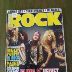 Revistas de música: THIS IS ROCK Nº 15 SEPTIEMBRE 2005 GUNS N' ROSES,DEEP PURPLE,ALICE COOPER,GRAND FUNK RAILROAD.. Lote 206274412