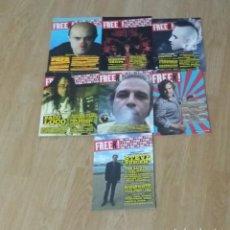 Revistas de música: LOTE 7 REVISTAS FREEK!. Lote 206276807