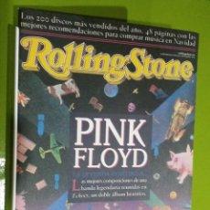 Revistas de música: ROLLING STONES 200 DISCOS MAS VENDIDOS. Lote 206277195