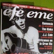 Revistas de música: REVISTA EFE EME Nº 30 DAVID BOWIE. Lote 206277900