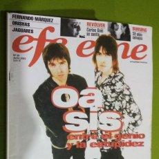 Revistas de música: REVISTA EFE EME Nº 39 OASIS. Lote 206278145