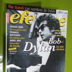 Revistas de música: REVISTA EFE EME Nº 72 BOB DYLAN. Lote 206278466