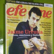 Revistas de música: REVISTA EFE EME Nº 71 JAIME URRUTIA. Lote 206279655
