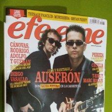 Revistas de música: REVISTA EFE EME Nº 69 LUIS Y SANTIAGO AUSERON. Lote 206279771