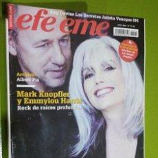 Revistas de música: REVISTA EFE EME Nº 79 MARK KNOPFLER Y EMMYLOU HARRIS. Lote 206280120