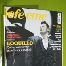 Revistas de música: REVISTA EFE EME Nº 76 LOQUILLO. Lote 206280512