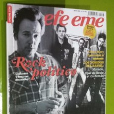 Revistas de música: REVISTA EFE EME Nº 78 ROCK POLITICO. Lote 206280646