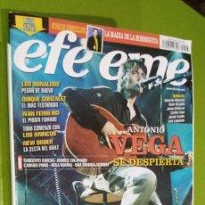 Revistas de música: REVISTA EFE EME Nº 67 ANTONO VEGA. Lote 206280941