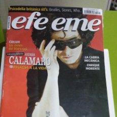 Revistas de música: REVISTA EFE EME Nº 73 ANDRÉS CALAMARO. Lote 206281053