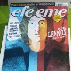 Revistas de música: REVISTA EFE EME Nº 74 JOHN LENNON. Lote 206281321