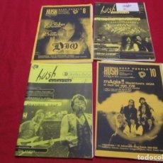 Revistas de música: DEEP PURPLE HUSH MAGAZINE CLUB DE ADICTOS DE DEEP PURPLE. Lote 206286562