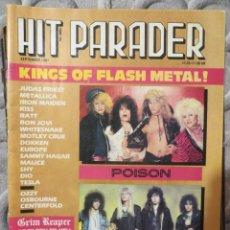 Magazines de musique: HIT PARADER:WHITESNAKE-POISON-OZZY-MOTLEY CRUE-EUROPE-TESLA-JUDAS PRIEST(1987). Lote 207010383