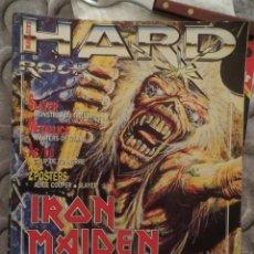Revistas de música: HARD ROCK:N.71-IRON MAIDEN-STEVE VAI-METALLICA-AC/DC-SLAYER-KREATOR-ETC... Lote 207134726
