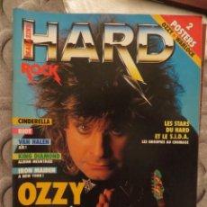 Revistas de música: HARD ROCK:N.-47-OZZY OSBOURNE-KING DIAMOND-IRON MAIDEN-W.A.S.P.-METALLICA-MOTORHEAD. Lote 207135007