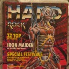 Revistas de música: HARD ROCK:N.-26-IRON MAIDEN-YNGWIE MALMSTEEN-POISON-SLAYER-QUEEN-WARLOCK..INCLUYE POSTERS. Lote 207135063