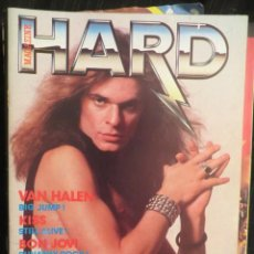 Revistas de música: HARD ROCK:-VAN HALEN-KISS-BON JOVI-DEEP PURPLE-IRON MAIDEN-QUEENSRYCHE. Lote 207135706