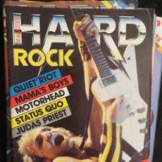 Revistas de música: HARD ROCK:N.1 !!!!-SCORPIONS-JUDAS PRIEST-MOTORHEAD-DEEP PURPLE-STATUS QUO. Lote 207135985