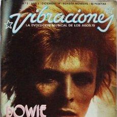 Riviste di musica: VIBRACIONES Nº 3. DICIEMBRE 1974. DAVID BOWIE, BOB DYLAN, CARLY SIMON, ORQUESTRA MIRASOL…. Lote 207840998