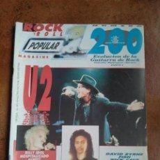 Revistas de música: POPULAR 1 NUM 200. U2, BILLY IDOL, TERENCE TRENT D´ARBY, CRAMPS, DAVID BYRNE, FISH, NICK CAVE. Lote 207862917