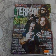 Revistas de música: REVISTA DE MUSICA ,TERRORIZER , TRUE CULT HEAVY METAL Nº 199, POSTER TRIGGER THE BLOODSHED. Lote 208220011