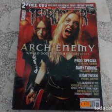 Revistas de música: REVISTA DE MUSICA ,TERRORIZER , TRUE CULT HEAVY METAL Nº 163, POSTER OBITUARY. Lote 208220190