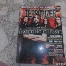 Revistas de música: REVISTA DE MUSICA ,TERRORIZER , TRUE CULT HEAVY METAL Nº 153, POSTER MASTODON Y DRAGON FORCE. Lote 208222226