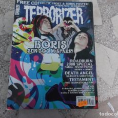 Revistas de música: REVISTA DE MUSICA ,TERRORIZER , TRUE CULT HEAVY METAL Nº 169, POSTER BORLS,. Lote 208222798