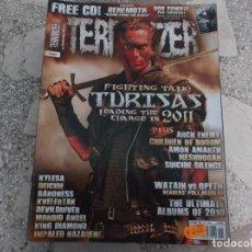 Revistas de música: REVISTA DE MUSICA ,TERRORIZER , TRUE CULT HEAVY METAL Nº 205 , POSTER NO. Lote 208223525