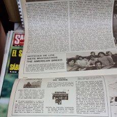 Revistas de música: EL BEATLE LENNON Y YOKO ONO SU JAPONESA PARTICULAR. Lote 208752087