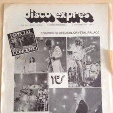 Revistas de música: YES - MAHAVISHNU ORCHESTRA - LINDISFARNE. Lote 208938872