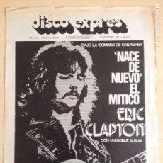 Revistas de música: ERIC CLAPTON. Lote 208939380