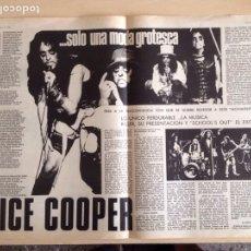 Revistas de música: ALICE COPPER - LONE STAR - SOFT MACHINE - FAIRPORT CONVENTION -SPOOKY TOOTH C. Lote 208958483