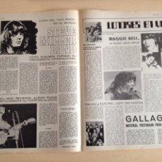 Revistas de música: ALICE COOPER - MOTHERS OF INVENTION - FRANK ZAPPA - SLADE - STEVE MILLER BAND - ELO - MAGGIE BELL. Lote 208963517