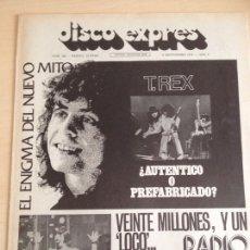 Revistas de música: T. REX - RADIO LUXEMBURGO - GREEG LAKE - RAIMON -DAVID BOWIE -. Lote 208964346