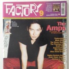 Magazines de musique: FACTORY 9 THE AMPS PAUL KELLY KEBRANTAS KACTUS JACK TODOS TUS MUERTOS. Lote 209385160