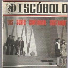 Revistas de música: DISCOBOLO 123 (PROCEDE DE ENCUADERNACION Y PARTE SUPERIOR ALGO GUILLOTINADO). Lote 209708145
