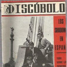 Revistas de música: DISCOBOLO 124 (PROCEDE DE ENCUADERNACION Y PARTE SUPERIOR ALGO GUILLOTINADO). Lote 209708245
