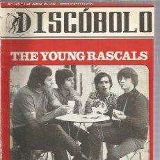 Revistas de música: DISCOBOLO 125 (PROCEDE DE ENCUADERNACION Y PARTE SUPERIOR ALGO GUILLOTINADO). Lote 209708336