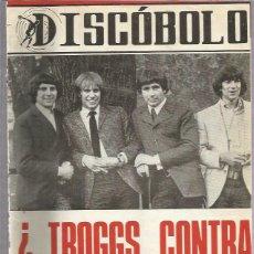Revistas de música: DISCOBOLO 126 (PROCEDE DE ENCUADERNACION Y PARTE SUPERIOR ALGO GUILLOTINADO). Lote 209708410