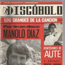 Revistas de música: DISCOBOLO 127 (PROCEDE DE ENCUADERNACION Y PARTE SUPERIOR ALGO GUILLOTINADO). Lote 209708550