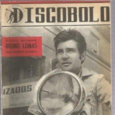 Revistas de música: DISCOBOLO 129 (PROCEDE DE ENCUADERNACION Y PARTE SUPERIOR ALGO GUILLOTINADO). Lote 209708670