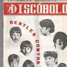 Revistas de música: DISCOBOLO 130 (PROCEDE DE ENCUADERNACION Y PARTE SUPERIOR ALGO GUILLOTINADO). Lote 209708951