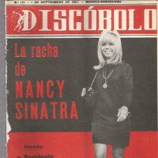 Revistas de música: DISCOBOLO 131 (PROCEDE DE ENCUADERNACION Y PARTE SUPERIOR ALGO GUILLOTINADO). Lote 209709016