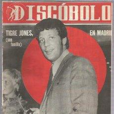 Revistas de música: DISCOBOLO 132 (PROCEDE DE ENCUADERNACION Y PARTE SUPERIOR ALGO GUILLOTINADO). Lote 209709102